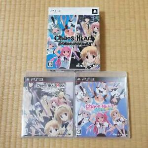 PS3 CHAOS; HEAD Double Pack 17964 Japanese ver from Japan
