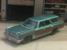 "WEATHERED 1973 73 Chevrolet Caprice Wagon ""Barn Find"" 1/64 Scale Limited Edt G20"
