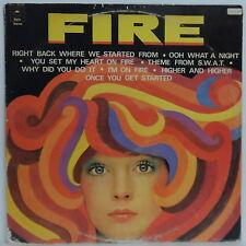 Various - FIRE LP 70's Rock Comp LP Martha Reeves - Rufus - Patricia Dahlquist