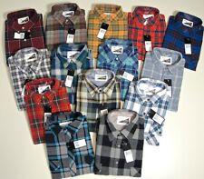 Herren Arbeits-Hemd Flanellhemd langarm versch. Farben+Größen Holzfällerhemd