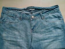 Ladies Boyfriend Fit Relaxed Blue Jeans UK 12