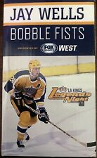 Jay Wells Los Angeles Kings Legends Night Bobble Fists 2013 Staples Promotion