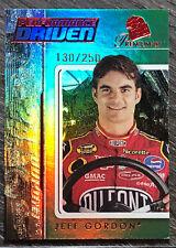 """2007 Press Pass Premium """"Performance Driven"""" RED #PD10 JEFF GORDON #/250 Nascar"""
