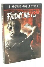 Friday the 13th: 8-Movie Collection (DVD, 2017, 6-Disc Set) NEW w/ Slipcover