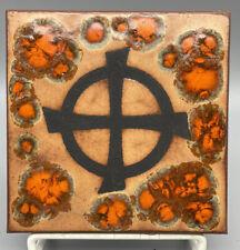 "Nos 1997 *Talisman Tiles* Tile By Cp Press ""Earth - Tt#70"" Trivet Or Art"