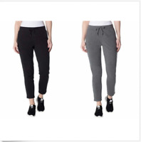 Champion Women's French Terry Pant,Sweats Black,Lead Charcoal, Size S,M,L,XXL