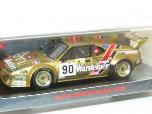1/43 BMW M1 Warsteiner Brun Motorsport Le Mans 24 Hrs 1983 #90 A.Pallavicini