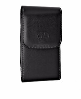 TracFone ZTE Phones Vertical Leather Carrying Case w/ Swivel Belt Clip