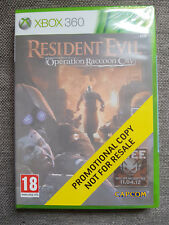 Microsoft Xbox 360 Resident Evil Operation Raccoon City New Sealed Promo Version