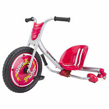 Razor Flash Rider 360 Drifting Kids Trike Ride-On Tricycle Scooter Toy, Red