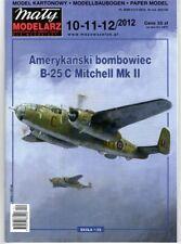Maly Modelarz Card Model Kit – B-25C Mitchell Mk II