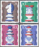 BRD (BR.Deutschland) 742-745 (kompl.Ausgabe) gestempelt 1972 Wohlfahrtsmarken