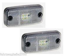 LED Umrissleuchte WEIß 12-24V Begrenzungsleuchte Positionsleuchte ohne Halter