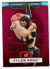 2010 TOPPS PLATINUM WWE #45 TYLER REKS RED 1/1