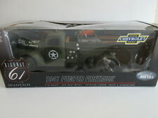 Ertl Highway 61 Collectibles 1941 Chevrolet US Army Pumper Fire Truck 1:16