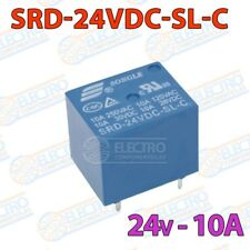 Rele 24v 10A SPDT - SRD-24VDC-SL-C - Arduino Electronica DIY