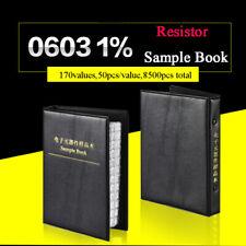 0603 Practical SMD/SMT ±1% Resistors Sample Book Components 0Ω-10MΩ Assorted KIT