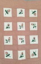 A Dozen Roses Quilt