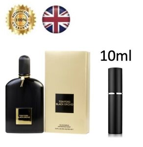 Tom Ford Black Orchid Women EDP Perfume  10ml Atomiser Fragrance Spray Bottle