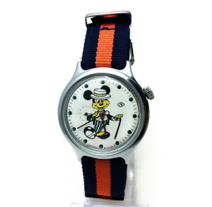 Cartoon Dressed Mouse. RARE VOSTOK Wostok USSR Men's Watch Sub-dial second hand