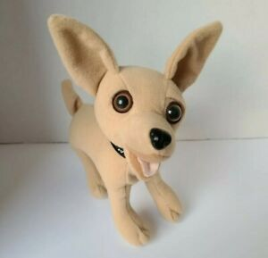 "Applause Talking Chihuahua Dog ""Yo Quiero Taco Bell"" Stuffed Animal Plush 6"""