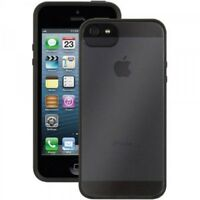 Griffin Reveal Thin Clear Case Protective Cover For iPhone 5 5s SE Black/White