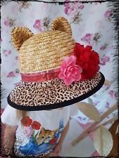 Monnalisa Hat Cappello Maculato Size 50, 52, 56 New Summer 2019