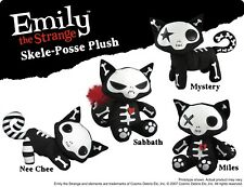 Emily the Strange Skele-Posse Mystery Kitty Plush - NEW