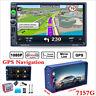 "7"" HD 2Din Car Radio MP5 Player Bluetooth Touch Screen GPS Navigation USB FM+MAP"