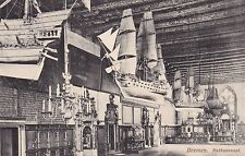 AK Bremen gel. 1911 Rathaussaal Schiffe Modelle Kerzenleuchter