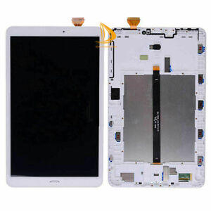 For Samsung Galaxy Tab A SM-T580 LCD Display Screen Touch Digitizer with Frame #