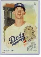 Walker Buehler 2019 Allen and Ginter 5x7 #33 /49 Dodgers