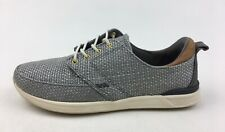 Reef Women's Rover Low Tx Fashion Lace Up Sneakers Size 7, Grey Textile 3072