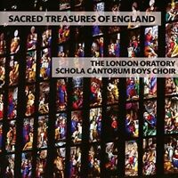 LONDON ORATORY SCHOLA CANTORUM BOYS CHOIR: SACRED TREASURES OF ENGLAND CD NEW+