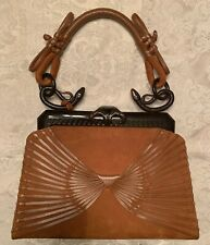 Christian Dior Brown Leather  Handbag - Excellent Condition  SK
