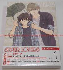 New SUPER LOVERS Vol.1 First Limited Edition DVD Radio CD Manga Booklet Japan