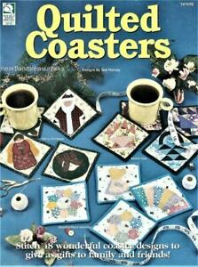 Quilted Coasters Quilt Pattern Book    48 Coaster Designs Applique ~ Pieced