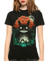 My Neighbor Totoro Art T-Shirt, Hayao Miyazaki Studio Ghibli Anime Tee