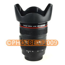 Caniam Lens 1:1 EF 24-105mm f/4L IS USM Piggy Bank Plastic Cup with Cover Mug