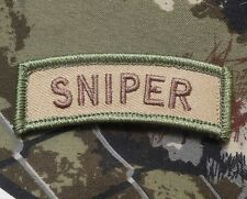 SNIPER TAB USA ARMY MILITARY BADGE INFIDEL MULTICAM VELCRO® BRAND FASTENER PATCH
