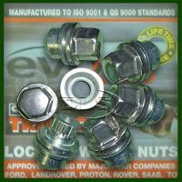 DISCOVERY 2, RR P38 LOCKING WHEEL NUT SET (5) for Alloy Wheels (EEFC/C5563/3)