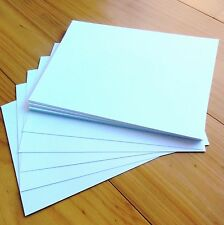 """SUPER SMOOTH """"BRIGHT WHITE"""" PREMIUM BLANK 280 GSM A5 CARD (210x148mm) x 30 - NEW"""