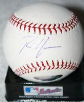Rich Harden signed baseball, Oakland A's, Tristar