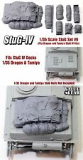 1/35 Scale StuG IV Deck Stowage Set #9 (8 Pieces) - Value Gear Resin