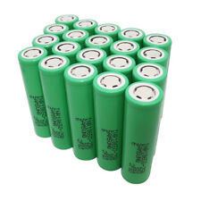20X 18650 Battery 2500mAh 3.7V Li-ion INR High Drain Rechargeable for Power Bank