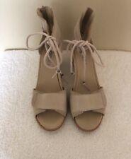 Sorel Joanie Ankle Lace Sandals Size 9.M Color Dove