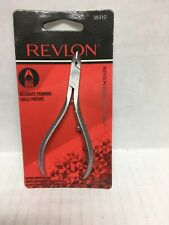 Revlon 1/2 Jaw Cuticle Nipper -  Stainless Steel Accurate Trimming -38310