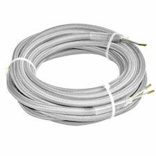 (3,73€/1m) 4m Textil Strom Kabel Leitung Hänge Lampen Verbindungs Verlängerung 2