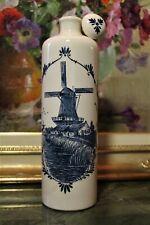 """LIQUEURS BOLS IN PORCELLANA BLUE - 27 DM 79 – GIN  SUL FONDO """"Delft Blue Made in"""