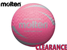 CLEARANCE NEW MOLTEN - SOFT TOUCH SV2P VOLLEYBALL - SIZE 63-65CM - PINK - CB4
